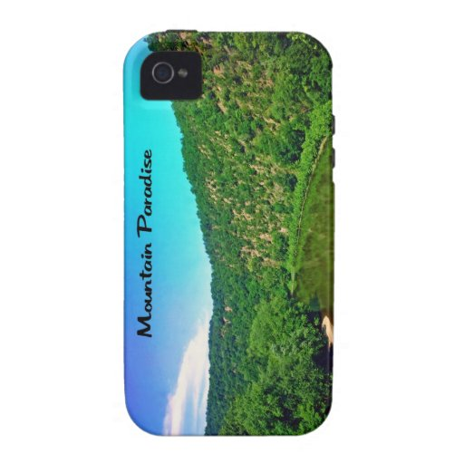 Paraíso Virginia Occidental de la montaña iPhone 4 Funda