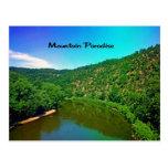 Paraíso Virginia Occidental de la montaña Postal