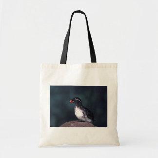 Parakeet Auklet Tote Bag