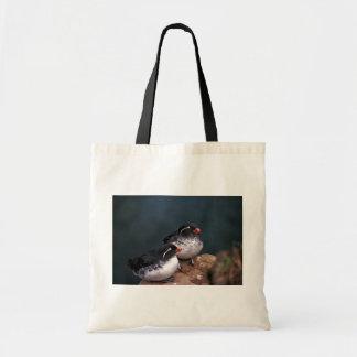 Parakeet Auklets Budget Tote Bag
