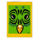 Parakeet Card