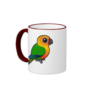 Parakeet de Birdorable Jandaya Taza De Café