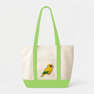 Parakeet de oro de Birdorable Bolsa Tela Impulso