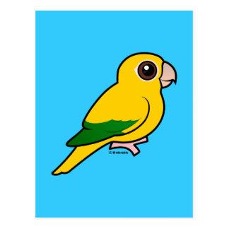 Parakeet de oro de Birdorable Postales