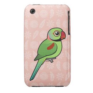 Parakeet del Alexandrine Case-Mate iPhone 3 Cobertura