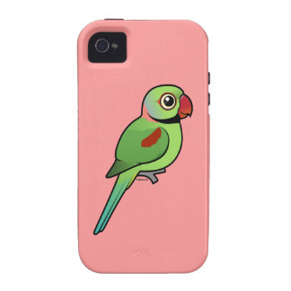 Parakeet del Alexandrine iPhone 4 Carcasa