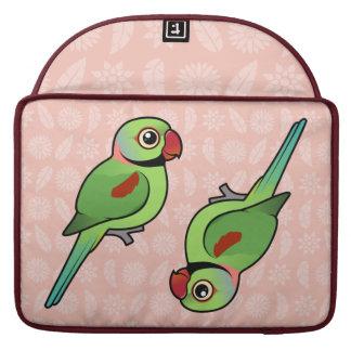 Parakeet del Alexandrine Fundas Para Macbooks