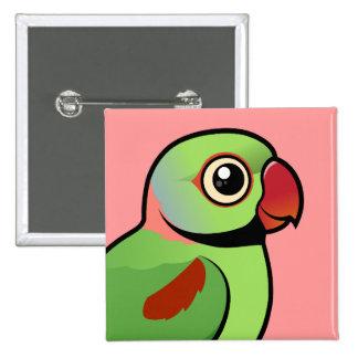 Parakeet del Alexandrine Pin