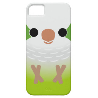 Parakeet del monje iPhone 5 protectores
