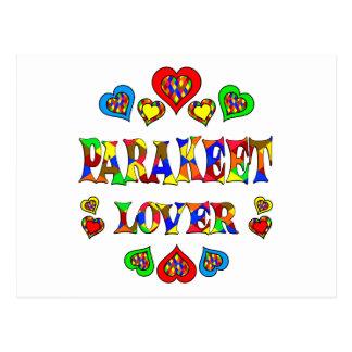 Parakeet Lover Postcard