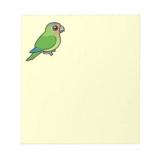 Parakeet Naranja-afrontado Bloc