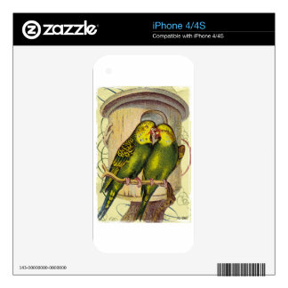Parakeet Parakeets Cage Skin For The iPhone 4S