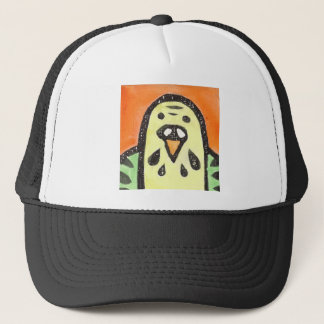 Parakeet Portrait Trucker Hat