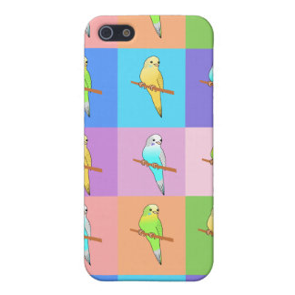 Parakeet Rainbow Rectangles Case For iPhone SE/5/5s