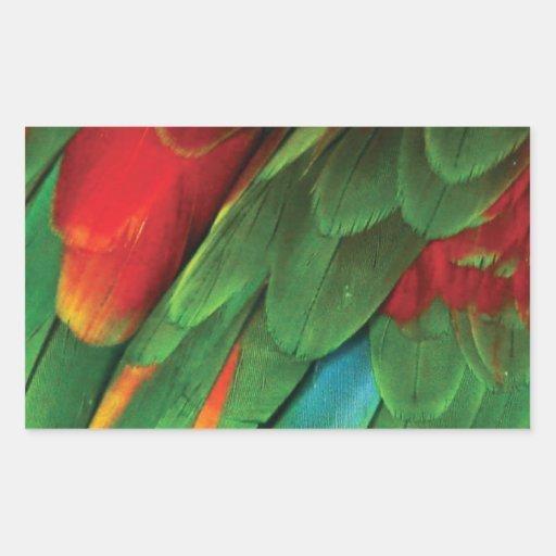 Parakeet Rectangular Sticker