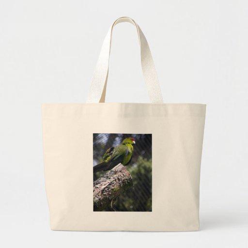 Parakeet Rojo-coronado Bolsas De Mano