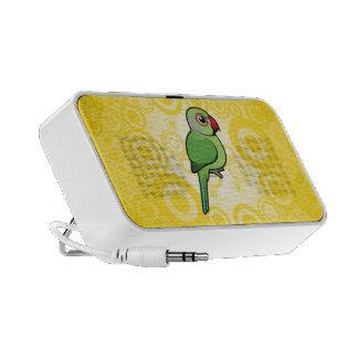 Parakeet Rosa-anillado iPod Altavoces