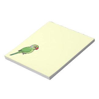 Parakeet Rosa-anillado Bloc
