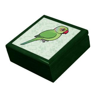 Parakeet Rosa-anillado Cajas De Recuerdo