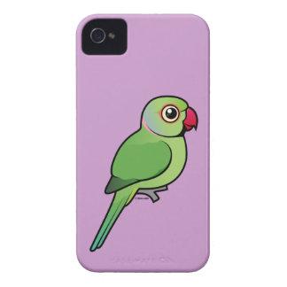 Parakeet Rosa-anillado Case-Mate iPhone 4 Coberturas