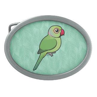 Parakeet Rosa-anillado Hebilla Cinturón