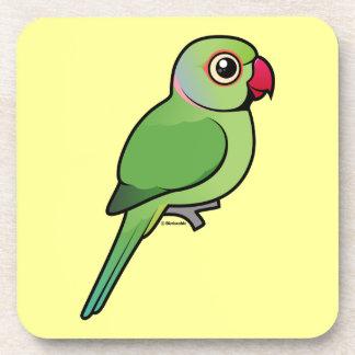 Parakeet Rosa-anillado Posavaso