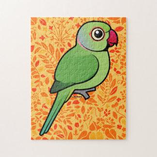 Parakeet Rosa-anillado Rompecabeza