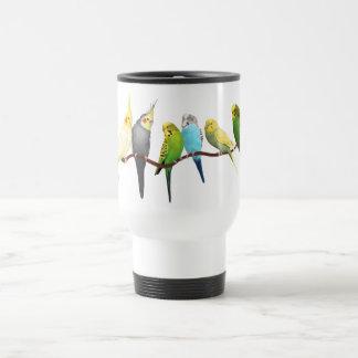 Parakeets & Cockatiels! Travel Mug