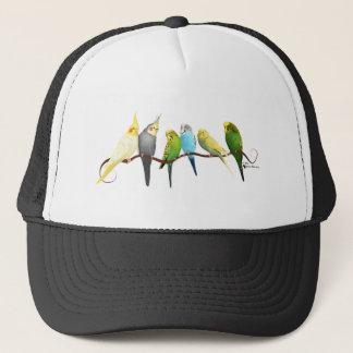 Parakeets & Cockatiels! Trucker Hat