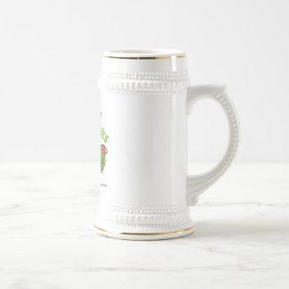 Parakeets urbanos tazas de café