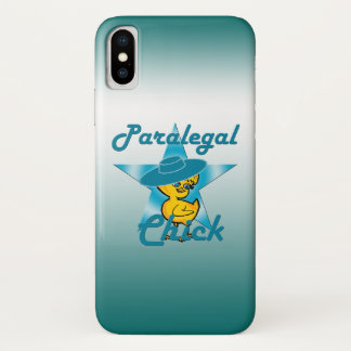 Paralegal Chick #7 iPhone X Case