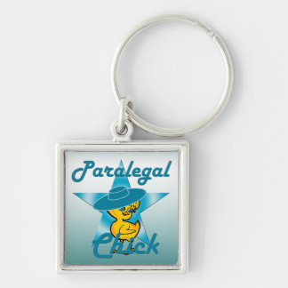 Paralegal Chick #7 Keychain