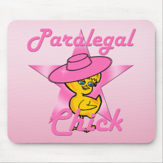 Paralegal Chick #8 Mouse Pad