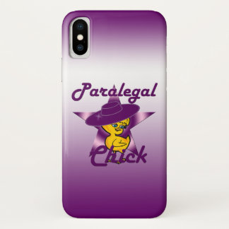 Paralegal Chick #9 iPhone X Case