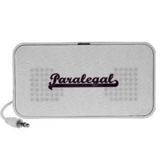 Paralegal Classic Job Design Laptop Speakers
