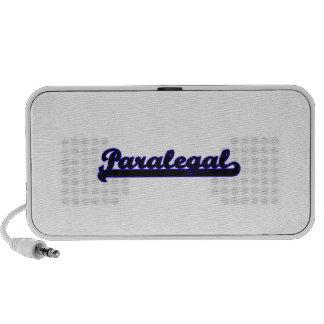Paralegal Classic Job Design Notebook Speakers