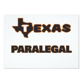"""Paralegal de Tejas Invitación 5"""" X 7"""""""