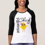 Paralegal del polluelo de la carrera camisetas