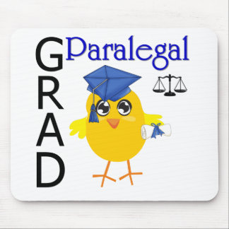 Paralegal Grad Mouse Pads