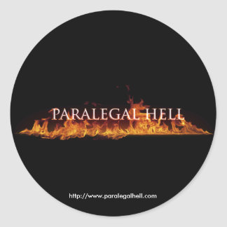 Paralegal Hell Sticker