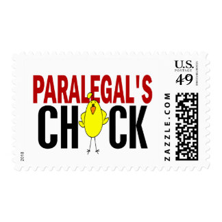 PARALEGAL'S CHICK POSTAGE STAMP