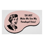 Paralegal Voice Poster