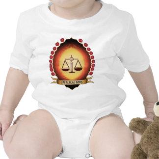 Paralegal Work Mandorla Baby Creeper