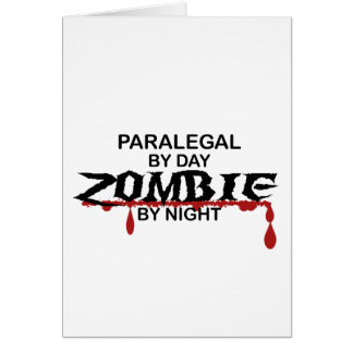 Paralegal Zombie Card