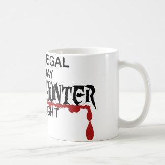 Paralegal Zombie Hunter Coffee Mug