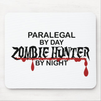 Paralegal Zombie Hunter Mouse Pad