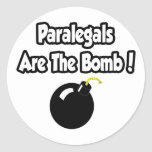 Paralegals Are The Bomb! Stickers