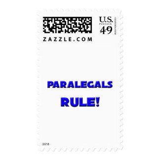 Paralegals Rule! Postage Stamp