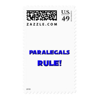 Paralegals Rule! Postage Stamp