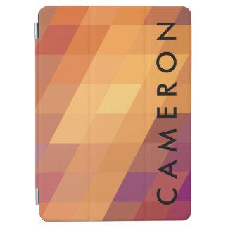 Paralelogramos geométricos del naranja de los cover de iPad air